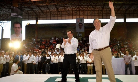 En Veracruz, hoy todos somos Pepe: Meade